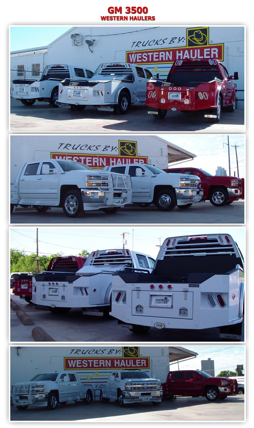Ford Fort Worth >> WESTERN HAULER - GM TRUCKS