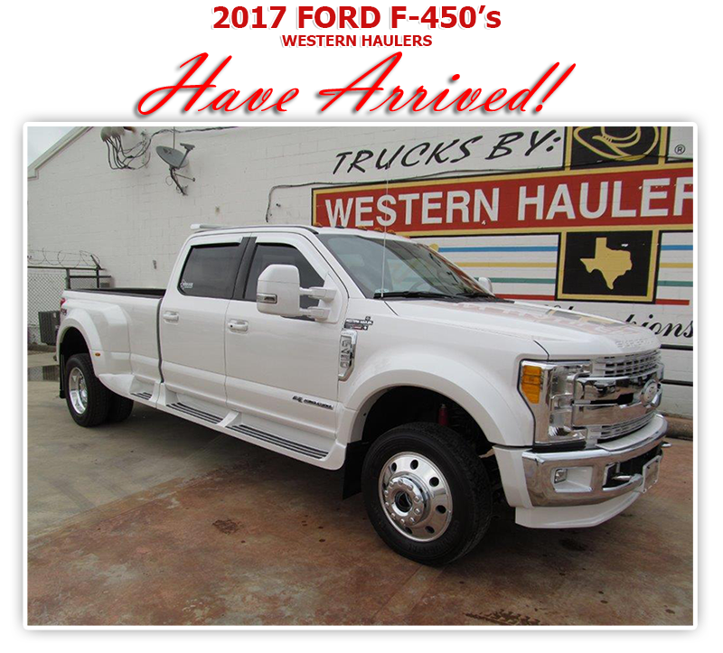Ford F 450 Western Hauler For Sale Autos Post